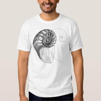 spiral Fibonacci Tshirts