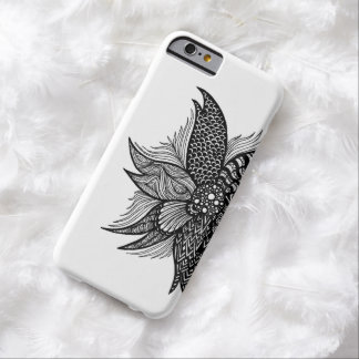Spiral Flower Barely There iPhone 6 Case