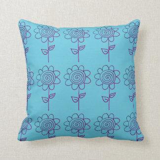 spiral flower cushion