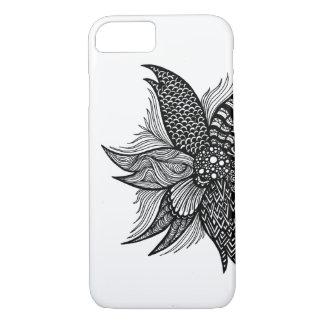 Spiral Flower iPhone 7 Case
