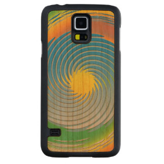 Spiral Fractal Abstract Cherry Galaxy S5 Case
