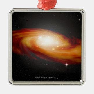 Spiral Galaxy 3 Christmas Ornament