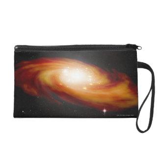 Spiral Galaxy 3 Wristlet Purse