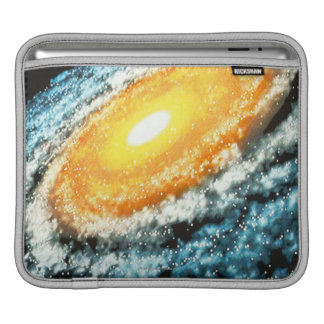 Spiral Galaxy 4 iPad Sleeve