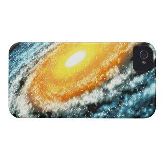 Spiral Galaxy 4 iPhone 4 Case