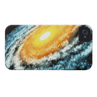 Spiral Galaxy 4 iPhone 4 Cover