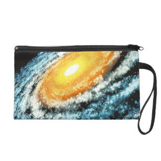 Spiral Galaxy 4 Wristlet Purses