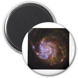 Spiral Galaxy 6 Cm Round Magnet