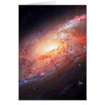 Spiral Galaxy Andromeda Milky Way Universe Stars Note Card