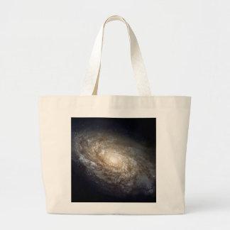 Spiral Galaxy Canvas Bag