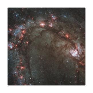Spiral galaxy gallery wrap canvas