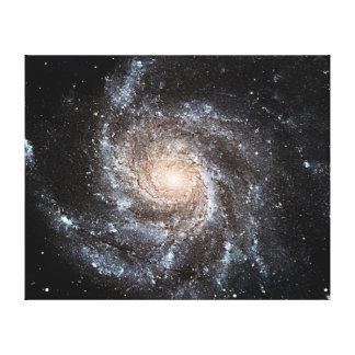 Spiral galaxy canvas prints