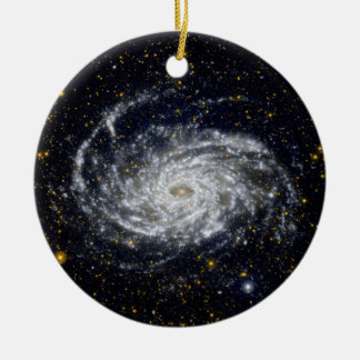 Spiral Galaxy Christmas Ornament