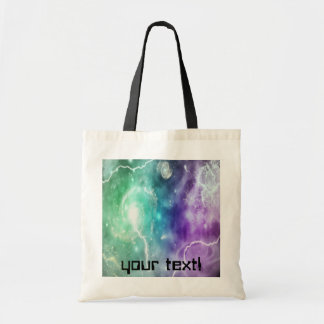 spiral Galaxy customizable bag