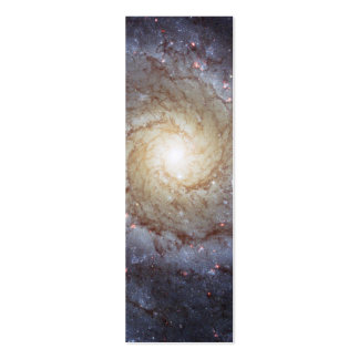 Spiral Galaxy M74 (Hubble) Business Card Templates