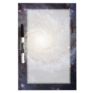 Spiral Galaxy M74 Hubble Dry-Erase Whiteboards