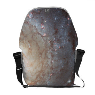 Spiral Galaxy M74 Courier Bag