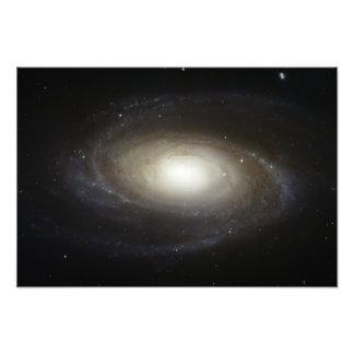 Spiral Galaxy M81 Art Photo