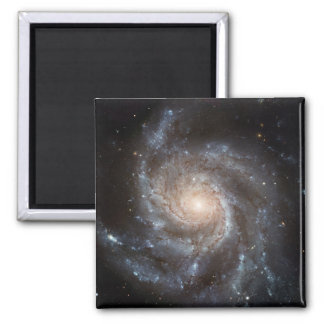 Spiral galaxy square magnet