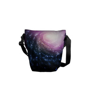 Spiral Galaxy Messenger Bags