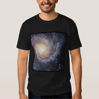 Spiral Galaxy Messier 74 Galactic Swirl T Shirts