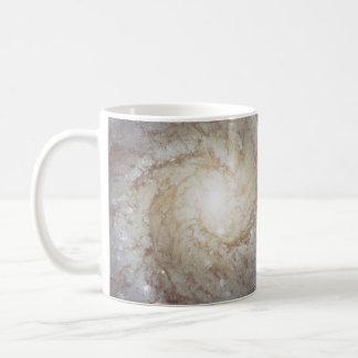 Spiral Galaxy Messier 74 NGC 628 Basic White Mug