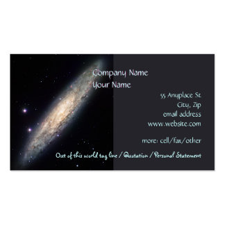 Spiral Galaxy - NGC 253 Pack Of Standard Business Cards