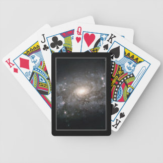 Spiral Galaxy NGC 3949 Bicycle Poker Cards