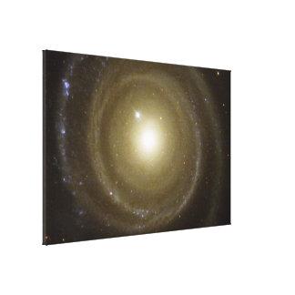 Spiral Galaxy NGC 4622 Spins Canvas Prints