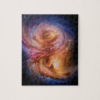 Spiral Galaxy SMM J2135-0102 Artist Impression Puzzle