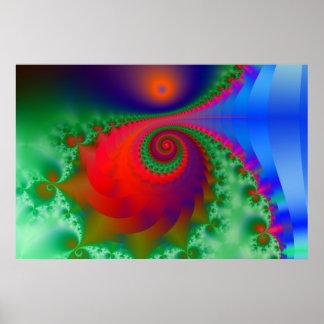 Spiral glory poster