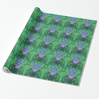Spiral Goddess Wrapping Paper