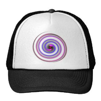 Spiral Mesh Hats