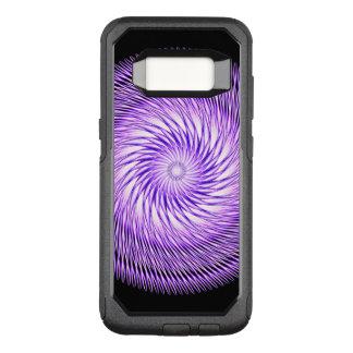 Spiral Illusion Mandala OtterBox Commuter Samsung Galaxy S8 Case