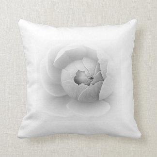 Spiral in White Cushion