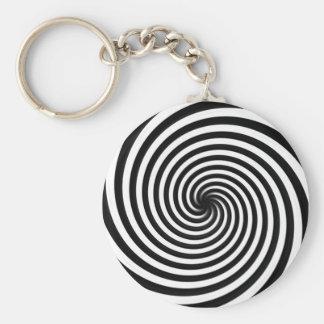 Spiral keychain