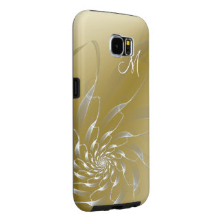 Spiral Lace and Gold Samsung Galaxy S6 Cases