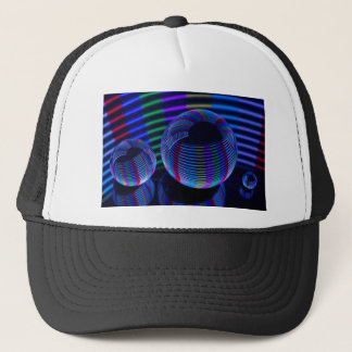 Spiral Lights In The Crystal Trucker Hat