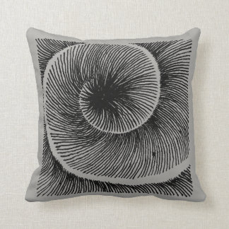 Spiral LINEs grey Cushion
