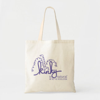 Spiral Logo Bag - Grape