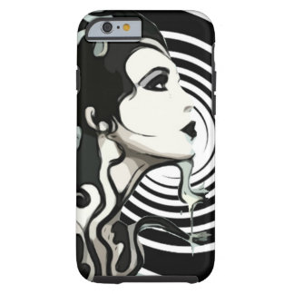 Spiral melting woman Cellphone case