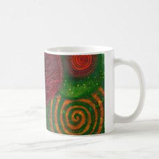 Spiral Moon Tree Mug