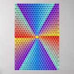Spiral Multiplication Table - Hexagon