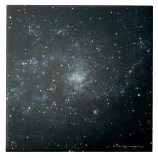 Spiral Nebula in Triangulum Large Square Tile