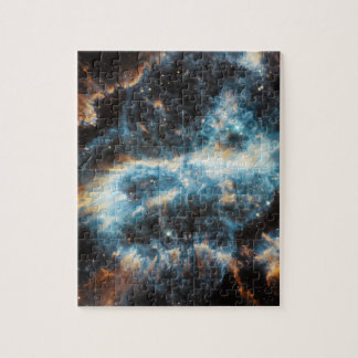 Spiral Nebula Space Puzzle