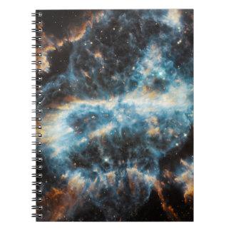 Spiral Nebula Space Spiral Notebook
