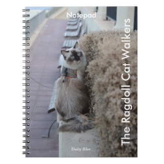 Spiral Notepad - The Ragdoll Cat Walkers Notebooks