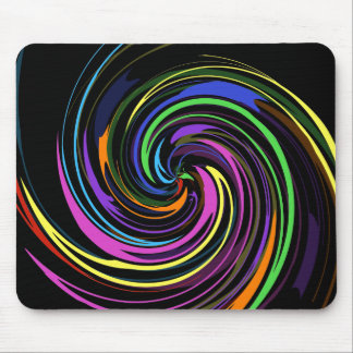 Spiral of Color Mouse Mat