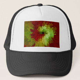 Spiral of columns trucker hat