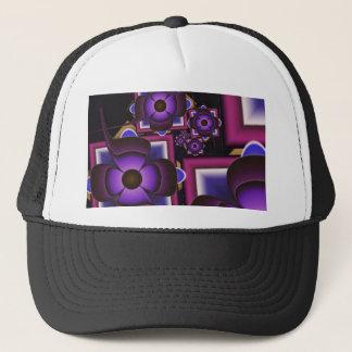Spiral of Flowers Trucker Hat